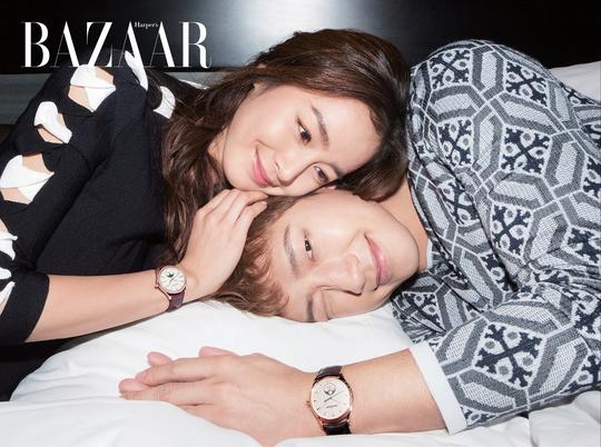 เรน (Rain) ♥ คิมแทฮี (Kim Tae Hee) เผยภาพคู่รักใน BAZAAR