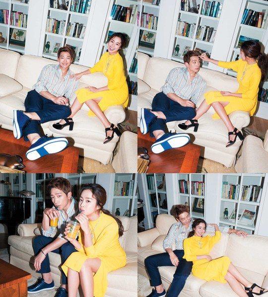 เรน (Rain) คิมแทฮี (Kim Tae Hee) ปล่อยภาพคู่รัก BAZAAR เพิ่มเติม