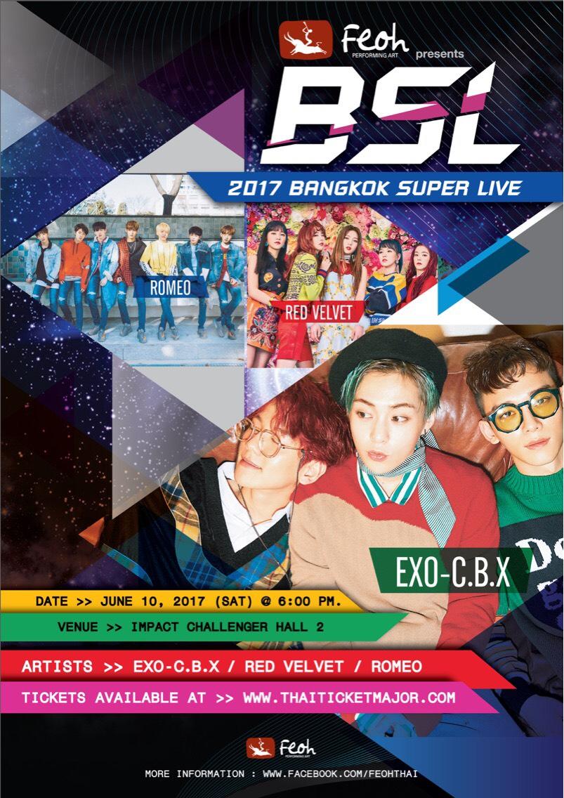 {Final Official Poster} Feoh Presents 2017 BANGKOK SUPER LIVE