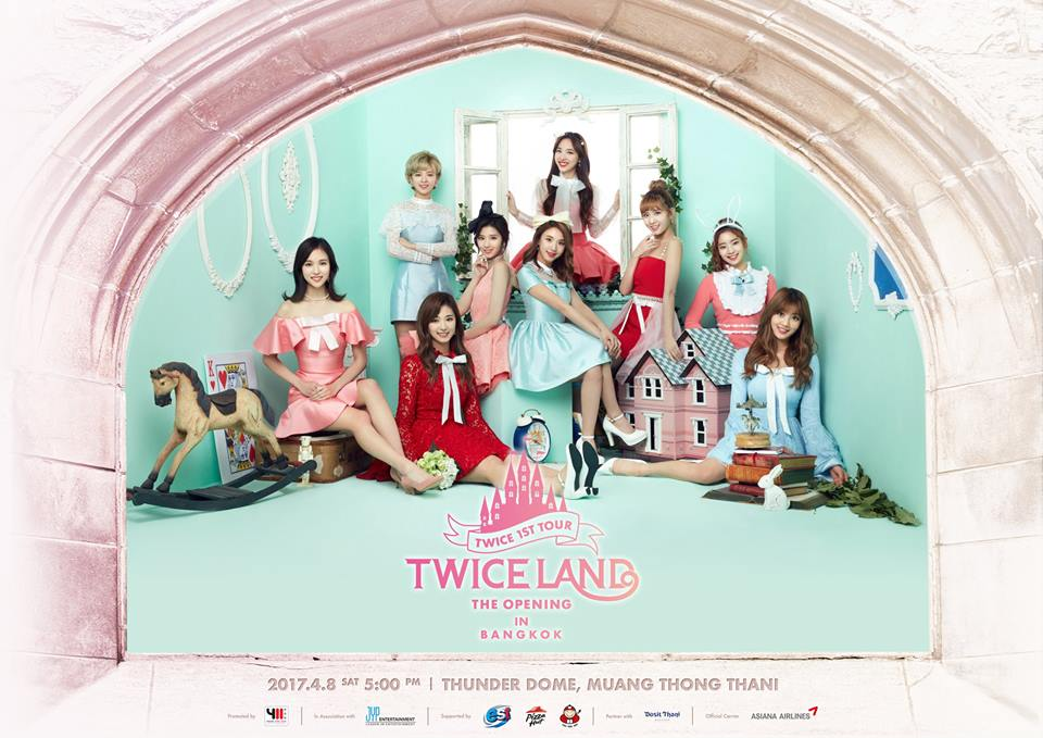 [Final Poster] TWICE 1st TOUR 'TWICELAND' – THE OPENING – IN BANGKOK