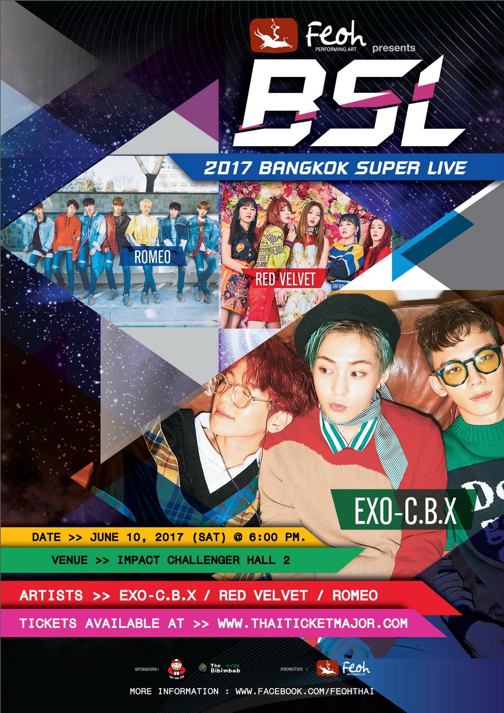{Final Poster V1} Feoh Presents 2017 BANGKOK SUPER LIVE