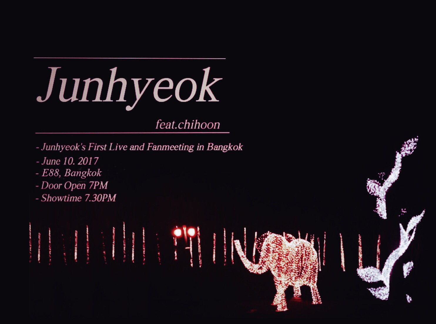 Junhyeok TH Fanmeeting