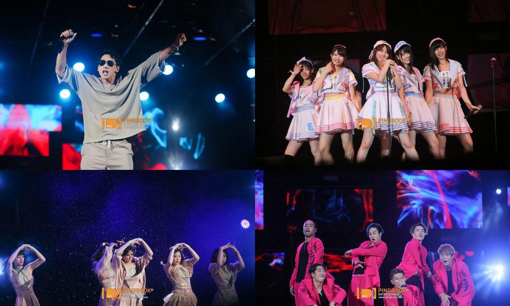 RAIN / AKB48 BNK48 / EXILE THE SECOND นำทีมโชว์สุดอลังกลางสายฝน VIRAL FEST ASIA 2017
