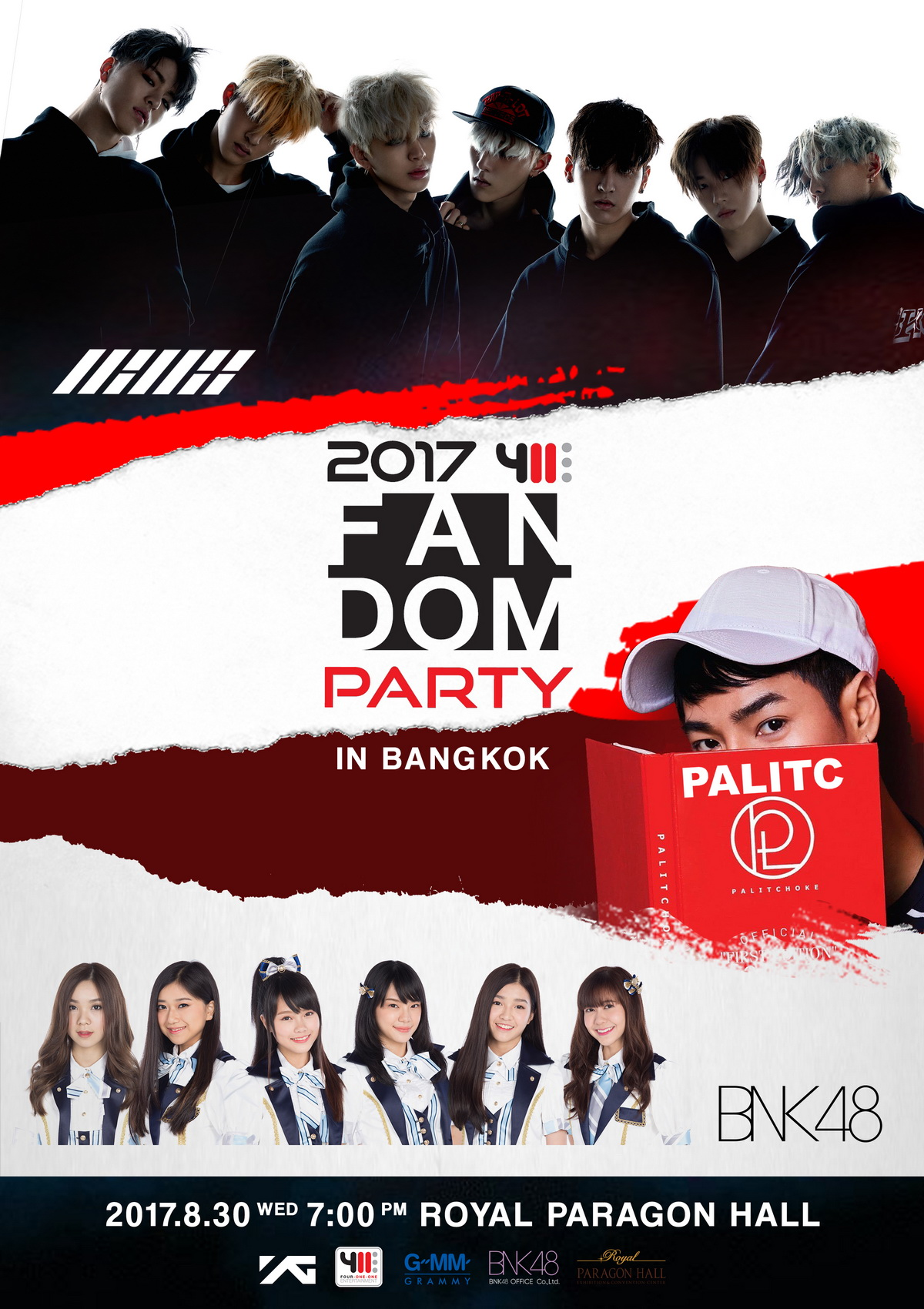 Poster – 2017 411 FANDOM PARTY IN BANGKOK