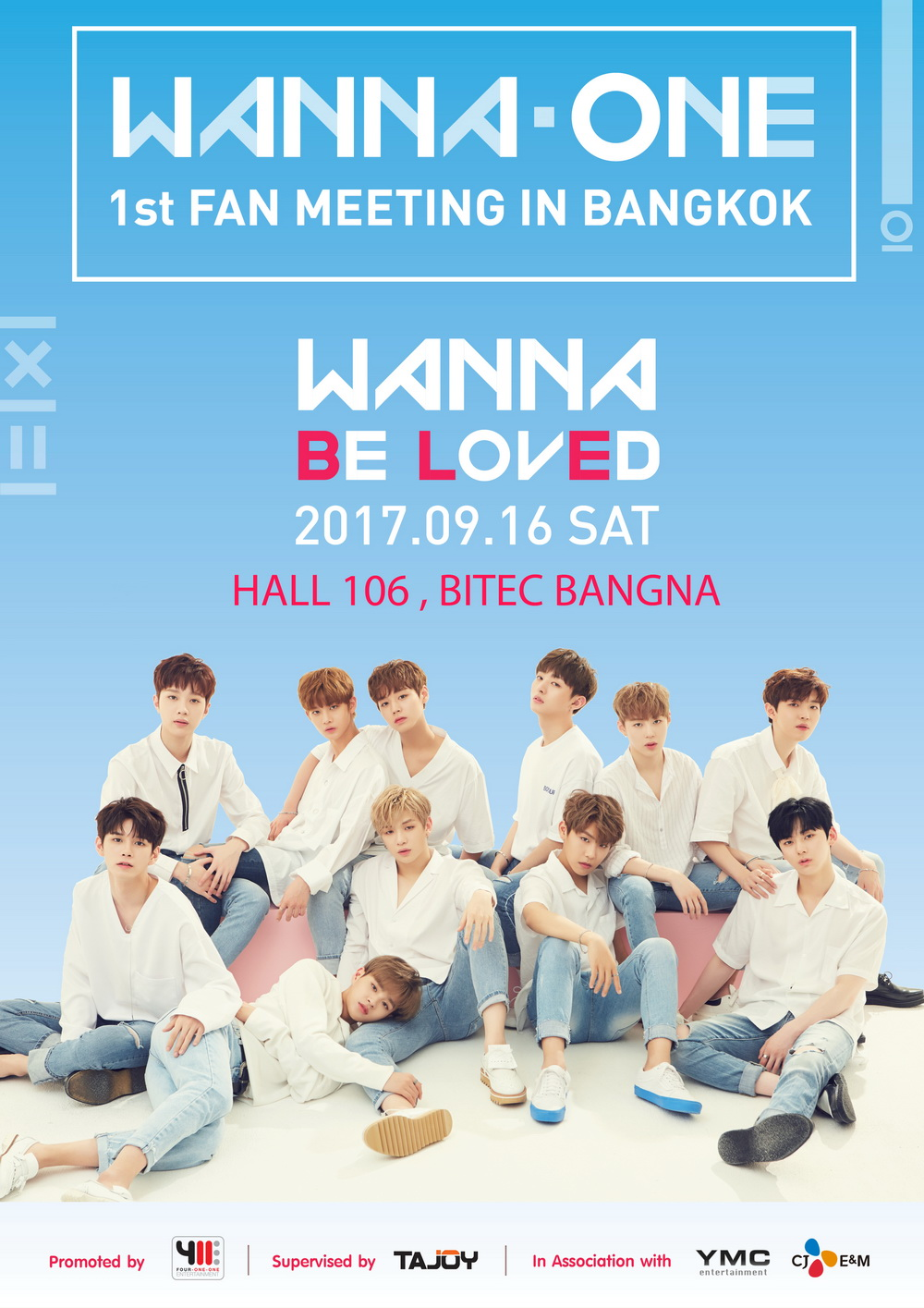 [Final Poster] WANNA ONE 1st Fan Meeting in Bangkok – WANNA Be LovEd