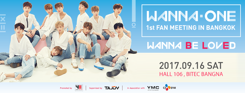 [Cover Photo] WANNA ONE 1st Fan Meeting in Bangkok – WANNA Be LovEd