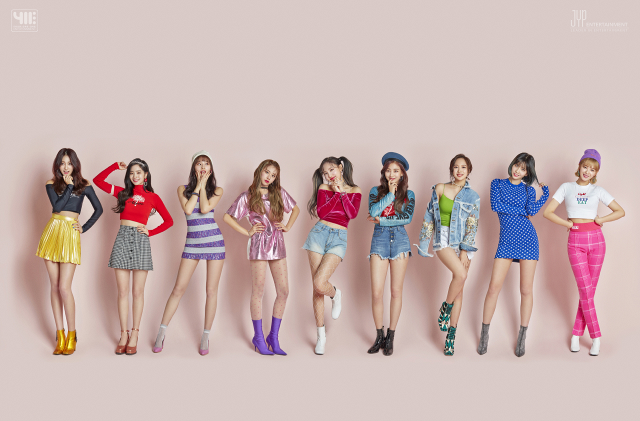 TWICE Official Photo for 411 Press Release