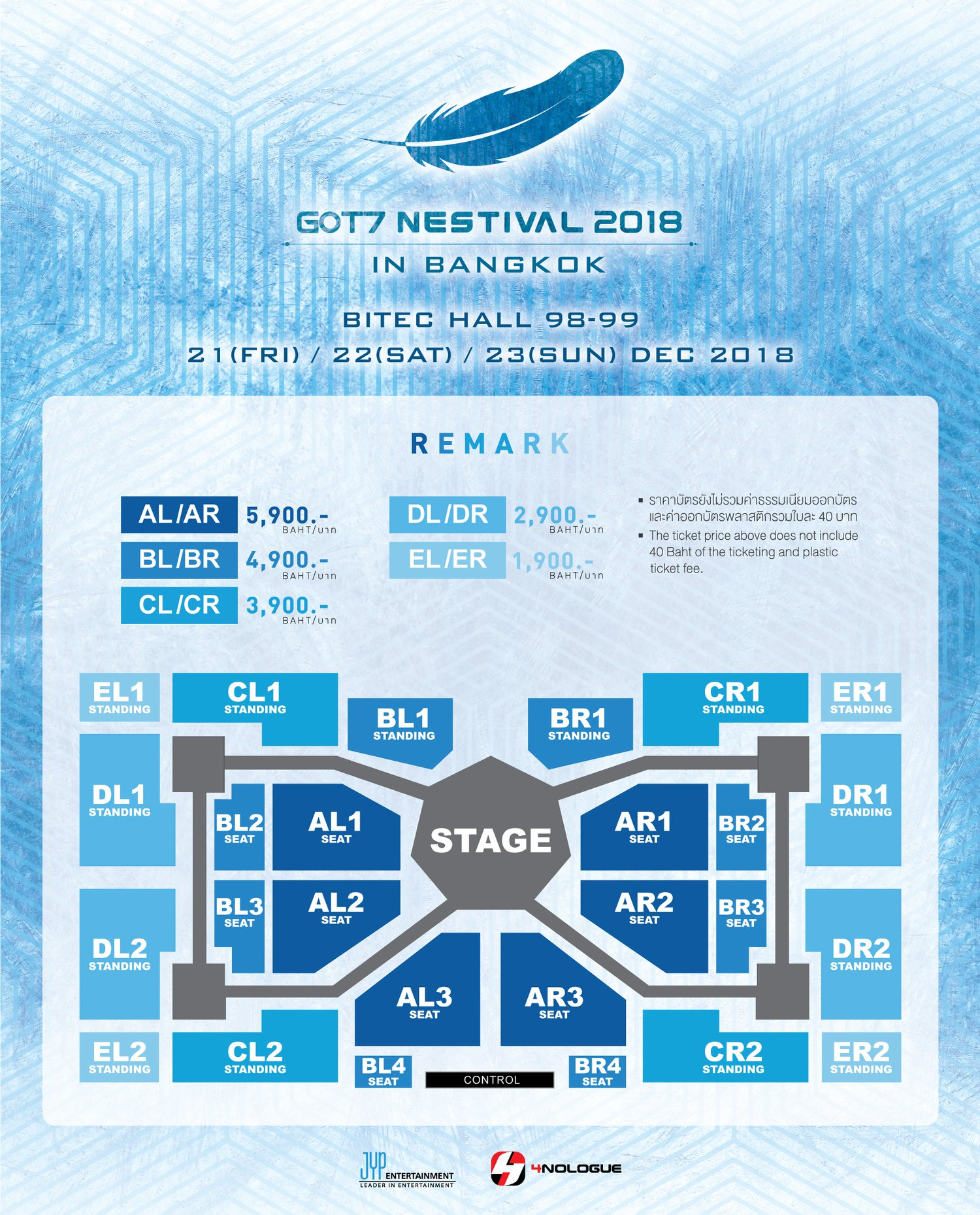 GOT7 NESTIVAL 2018 IN BANGKOK 02