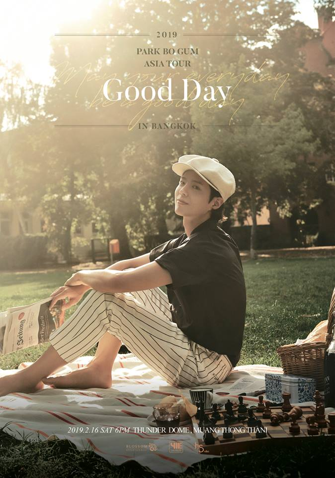 411ent Poster – 2019 PARK BO GUM ASIA TOUR {A good day – May your everyday be a good day} IN BANGKOK