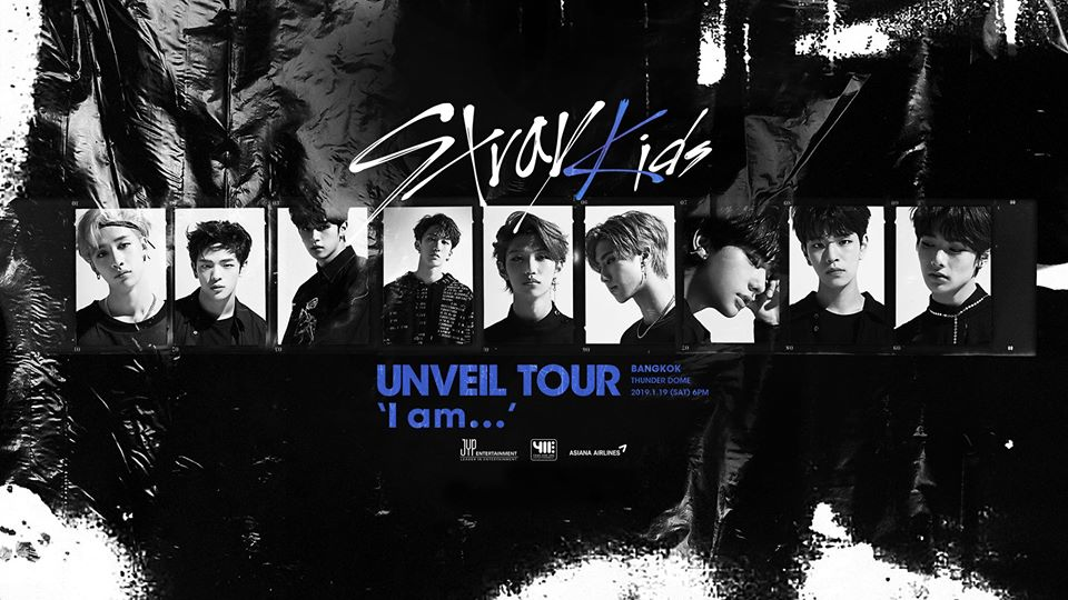 [Cover Page] Stray Kids UNVEIL TOUR 'I am …' IN BANGKOK