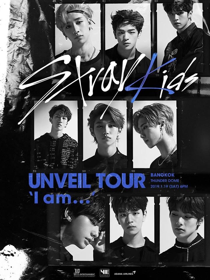 [Poster] Stray Kids UNVEIL TOUR 'I am …' IN BANGKOK
